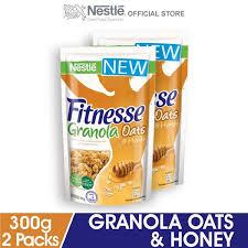 nestlà fitnesse granola oats honey 300g
