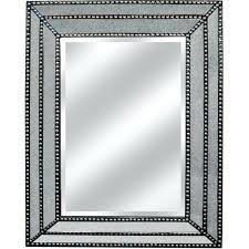 wall mirrors wood wall mirrors studded mirror accents uk