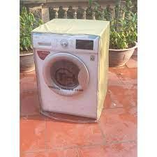 Hot, hot} Áo trùm máy giặt cửa ngang ( vải dù màu vàng chanh ) chính hãng  210,000đ