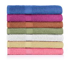 Amazoncom CrystalTowels 7 Pack Bath Towels Extra Absorbent 100
