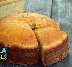Eggless Vanilla Sponge Cake Pressure Cooker Recipe Video By Tarla