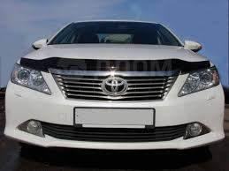 <b>Дефлектор капота SIM</b> (мухобойка) Toyota Camry 50 2011-2014 ...