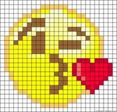 Emoji Perler Bead Patterns Mesmerizing Emojis Perler Beads Emojis Pinterest Emojis Cross Stitch