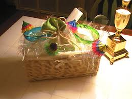 Gift Basket Wrapping Ideas Decorative Gift Basket Hgtv