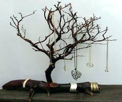 jewelry holder tree stands stand for girls wooden jewellery australia dollar