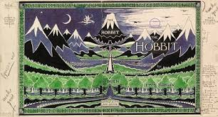 the original cover of the hobbit as painted by tolkien
