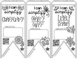 6f49c6083ba2dfe66b4e18bc1efab981 524 best images about algebra 1 on pinterest math teacher on unit 7 exponent rules worksheet 2