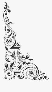 Design Black And White Art Corner Design Clipart Clip Art Corner Design Clipart Black