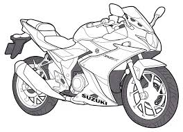 Hi guys, today we bring you some motorcycle coloring sheets. Motorcycle Coloring Pages For Kids Free Printable