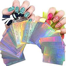 63 Pcs Tipy Na Poloviční Nehty Ozdoby Na Nehty Nail Art Manikúra