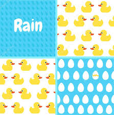 Drops Patterns Best Patterns Set Seamless Vector Pattern With Cute Bright Yellow Ducks