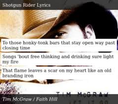 Everyone's hammered, looking for someone to take home, and ready to sing at the top of their lungs. Tim Mcgraw Let It Go