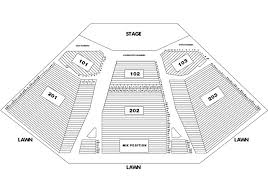 Alpine Valley Detailed Seating Chart With Seat Numbers Alpine Valley Seating Chart If You Are Not Out On The Alpi