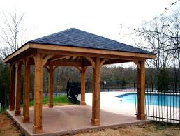 free standing patio cover kits. Aluminum Patio Cover Kits Cheap Roof Ideas Free Standing Pertaining To Covers . T