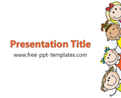 Children Ppt Templates Kids Ppt Template Free Powerpoint Templates Places To Visit