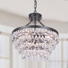 black chandelier lighting photo 5. Ivana 5light Antique Black Luxury Crystal Chandelier Bronze Iron Lighting Photo 5