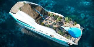 90m 'Tropical Island Paradise' superyacht by Yacht Island Design