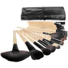 best professional makeup brush set. 24pcs professional makeup brush set tools make-up toiletry kit wool brand make up case free shipping best p