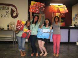 are you looking for something new and fun for a bachelorette party plan a painting party with us what could be better than getting the girls together for
