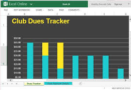 Membership Dues Template Club Dues Tracker Magdalene Project Org