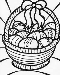 Small Picture easter egg basket coloring pages Just Colorings