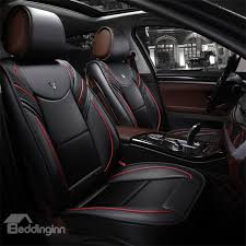 36 active sports style leather harmonious colors universal car seat covers
