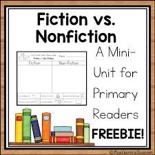 Fiction Vs Nonfiction Anchor Chart Teaching Fiction Vs Nonfiction Freebie Miss Conners