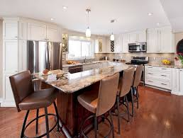 Dark wood floor kitchen Interior Light Cabinets With Dark Floors Issuehqco Can Have Light Kitchen Cabinets With Dark Floors
