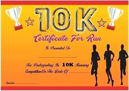 Fun Run Certificate Template Finisher Certificate Template Medical Ideas Hall Of Fame