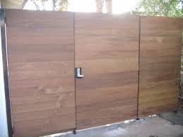 photo of c cure fence hollywood ca united states ipe wood