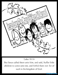Jesus Loves Me African American Coloring Pages For Kids With Jesus