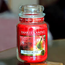 apple yankee candle. yankee candle sweet apple