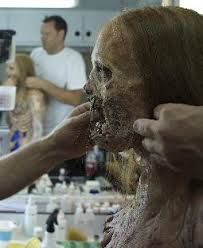 At a minimum, a zombie needs pale skin, sunken eyes, and darkened or bloody lips. The Walking Dead Behind The Scenes Make Up Fx Imagery
