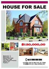 home for sale template house for sale poster template how to make a house for sale poster