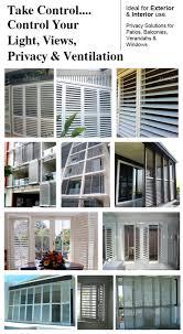 Aluminum Louvered Exterior Doors
