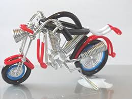 amazon com wire vintage handmade craft metal motorbike motorcycle