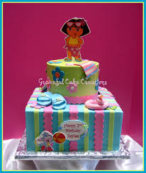 Pin Dora And Boots Birthday Cake A Photo On Flickriver Cake On Pinterest