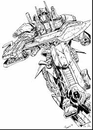 Marvelous Optimus Prime Coloring Pages Free To Print Truck Mode