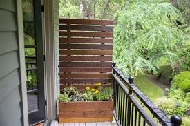 diy privacy planter for patio albert