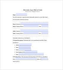 Gun Bill Of Sale 10 Free Sample Example Format Download Free