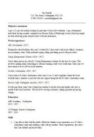Resume Template Simple Gorgeous Simple CV Template Collection Clean CV Templates In Word To Download
