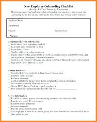 Template Sample New Employee Welcome Email Checklist Document ...