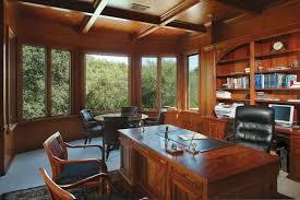custom home office furniture. Wooden Custom Home Office Furniture With Built In Shelves