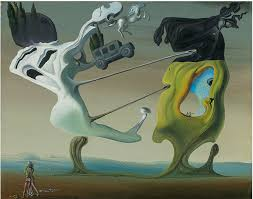 two rediscovered dalí paintings up for for first time