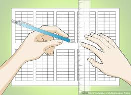 How To Make A Multiplication Table: 12 Steps (With Pictures)