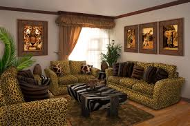 Leopard Chairs Living Room Design Drawing Room Furniture Living India Remodelling Simple