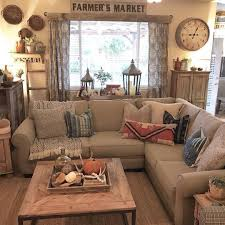 nice Farmhouse Style Decorating Ideas: 99 More Incredible Photos  http://www. Family Room CurtainsRustic Living ...