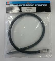 curtis plow parts trip springs blade markers solenoids buyers 1304833 curtis snowplow hydraulic left angle hose 28 inch replaces curtis oem 1tbp98d