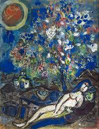 dreamlike poetry of chagall s work says nicole casi ph d fine art specialist at new orleans auction galleries the painting includes
