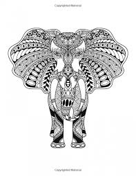 Small Picture Get This Challenging Coloring Pages of Elephant for Adults 6fc3d9